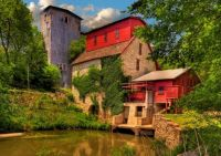Old Grist Mill ~ Oxford, Kansas