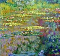Claude Monet - Water Lilies - Especially for Monica (Mar17P26)