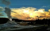Yellowstone @ sunset
