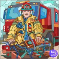 Firefighter from Hey Color