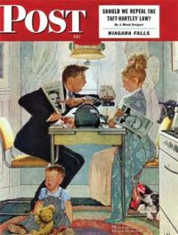 Saturday Evening Post The-Great-Debate