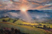 Dame Laura Knight - Sundown - 1877 to 1970