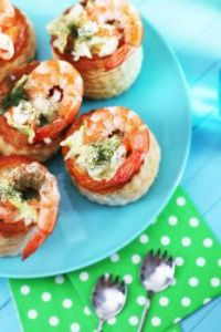 Shrimp Patty Shells