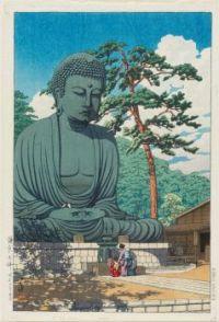 The Great Buddha at Kamakura