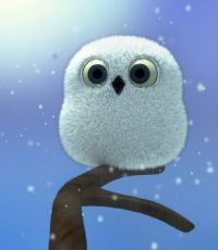 Jasper the Snow Owl