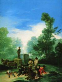 Goya - Highwaymen Attacking a Coach (1787)