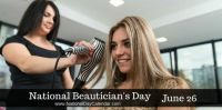 Today Is National Beautician's Day!!