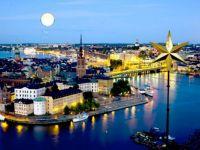 Stockholm at night-summer