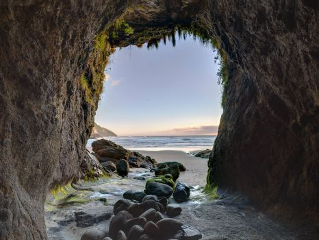 Cave at Haceta Head