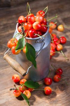 """Themes """"All things Red""""  Cherries"""