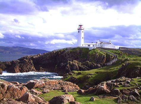 Lighthouse in Ireland