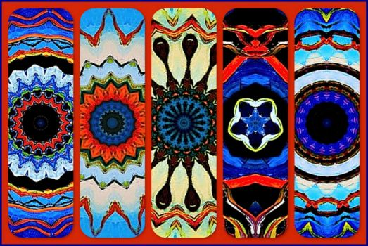 Blue Beauties!  KaleidoBOARDS