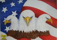Three Faces of the American Eagle