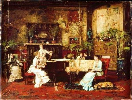 the music room, 1878