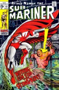 The Sub-Mariner Versus Stingray