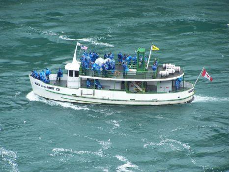 Tour Boat at Niagara Falls