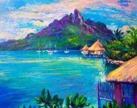 modré pobřeží