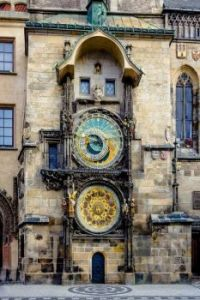 600 year old clock located in the city of Prague is the world's oldest astronomical clock still in operation
