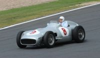 Stirling Moss around Silverstone