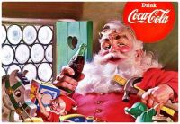 Coca-Cola Christmas Santa Art