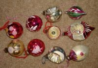My Vintage Christmas Tree Baubles