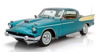 1958 Studebaker Packard Hawk blue and white