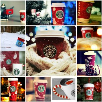 christmas starbucks by asanova on flickr