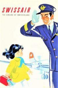 Themes Vintage ads - Swissair