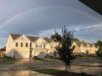 Rainbow over the neighborhood