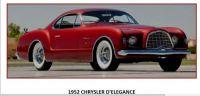 52 CHRYSLER D'ELEGANCE - CONCEPT CAR