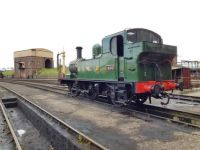 GWR tank on shed, Didcot