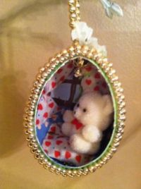 Easter Teddy Bear Egg