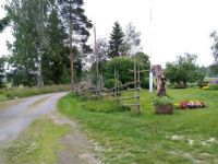 Driveway to my Godmother's home in Veteli, Finland