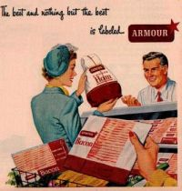 Themes Vintage ads - Armour Bacon and Ham