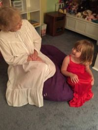 Meghan shares bedtime secrets with her Ghee