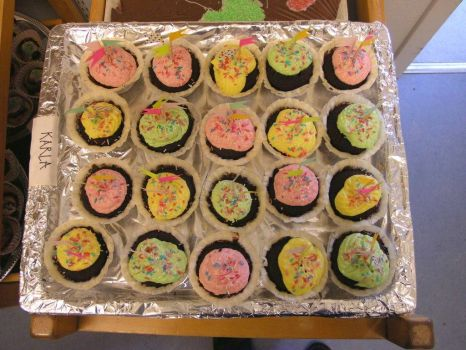 Colourfull Cupcakes