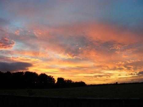 Sunset 1/9/13 a