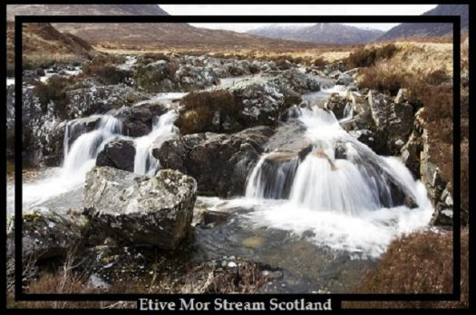 Etive Mor Stream - Scotland