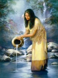 Waterfall Maiden