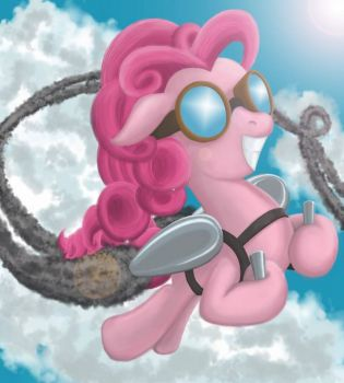 MLP: Rocket Pinkie Pie