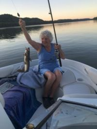 Mom's catfish from the Ohio River.