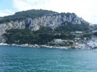 Capri from the water 1