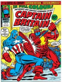 Captain Britain Vs Captain America (1976)