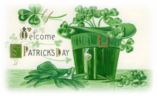 Welcome st patricks day