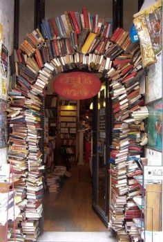 Bookstore Entrance Lyon France