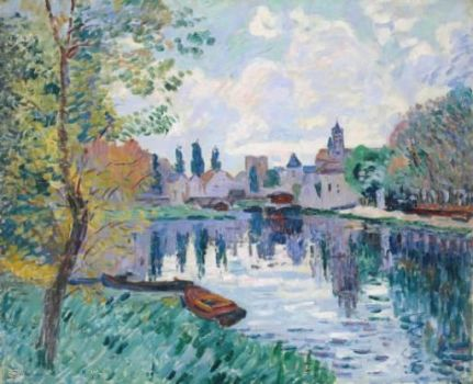 Moret-sur-Loing by Armand Guillaumin