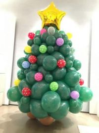 Balloon-Christmas-Tree-Decorations