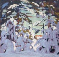 Snow on Trees, Lawren Harris