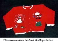 Electronic Knitting Machine