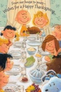 Happy Thanksgiving from the Schulz gang!